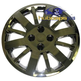 09 10 Chevy Cobalt 15 Chrome Rim Hub Caps Wheel Covers