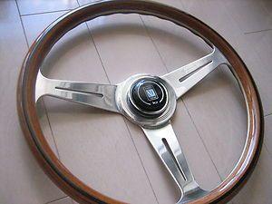 Nardi Wood Steering Wheel Porsche Alfa chevy Datsun de tomaso Morris