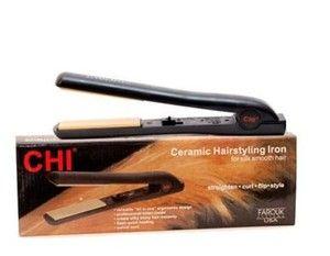 Chi Flat Iron New 1 inch Black Ceramic Hair Straightener