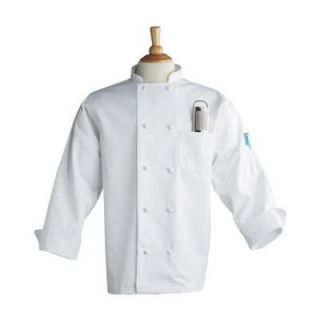 Uncommon Thread White Extra Large Chef Coat w/ Thermometer Pocket