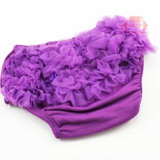 Pcs Cotton Nylon Chiffon Baby Girls White Panties Bloomers for