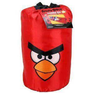 Rovio Angry Birds Childrens Bedding Slumber Sleeping Bag Backpack New