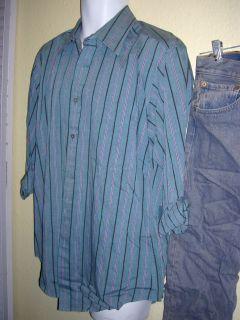 Chris Cooper Academy Award Winner Adaptation Screen Worn Shirt Jeans w