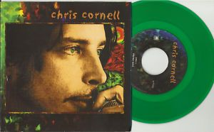 Soundgarden CHRIS CORNELL Flutter Girl PROMO GREEN 7 INCH Vinyl 45
