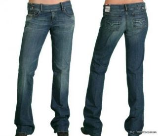 Diesel Cherone Low Rise Boot Cut Jean 29 x 34 710
