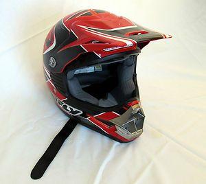 Fly Motocross Dirt Bike Off Road Helmet Worn Twice