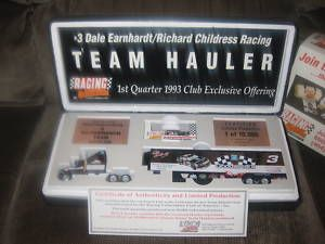 Dale Earnhardt Richard Childress Racing Team Hauler