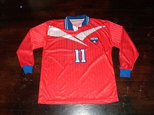 Vintage Marcelo Salas Chile National Team Soccer Jersey Football FIFA