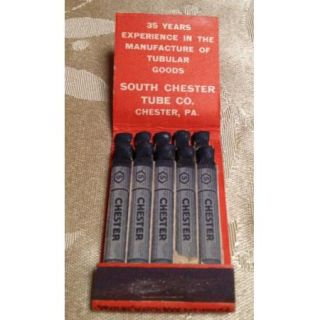 Matchbook Front Strike   Chester Steel Casing Line Pipe Drilling