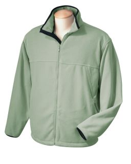 Chestnut Hill Mens Microfleece Full Zip Jacket CH900