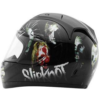 Slipknot Nine Full Face Street Bike Vintage Motorcycle Helmet