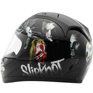 Slipknot Nine Full Face Street Bike Vintage Motorcycle Helmet