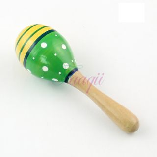 1x small wooden ball children s toys percussion musical instruments