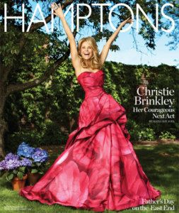 Christie Brinkley Hamptons Magazine Fashion Interiors