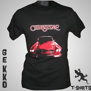 Christine Retro T Shirt Stephen King DVD Book Film Cult