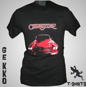 Christine Retro T Shirt Stephen King DVD Book Film Cult