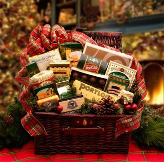 New Christmas Gift Baskets Home and Hearth Fireside Holiday Hamper
