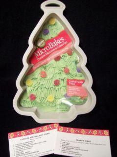 Wilton Microbakes Christmas Tree Cake Pan Mold