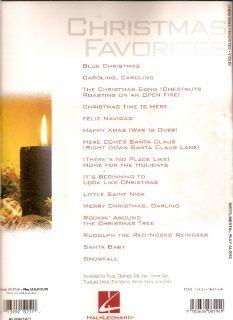 INSTRUMENTAL Play Along Solo Arrangements CHRISTMAS Favorites  VIOLIN