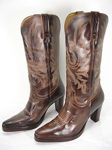 NEW CHARLIE 1 HORSE BY LUCCHESE I4766 COWBOY WESTERN BOOTS WOMENS 9 B