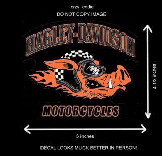 chroma graphics harley davidson road hog decal