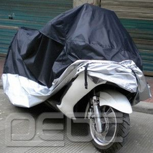 Motorcycle Cover XL 265 105 127cm waterproof Rain Cover UV Protective