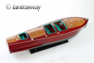 Chris Craft Triple Cockpit 32 inches Wooden Model Boat