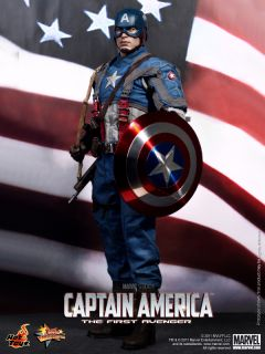 AVENGER CAPTAIN AMERICA CHRIS EVANS 1/6 ELECTROPLATED SHIELD ONLY