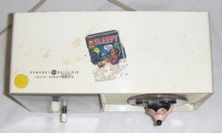 Mickey Mouse Am Clock Radio Alarm Kids Youth Disney 1960s Old