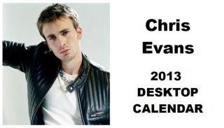 Chris Evans 2013 Desktop Calendar NOW ONLY £5.99