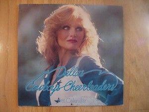 1981 Dallas Cowboys Cheerleaders Original Calendar Never Used No