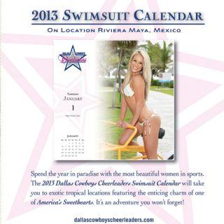 cowboys cheerleaders 2013 box calendar officially licensed cowboys