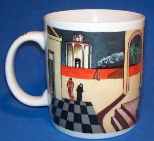 Chaleur Coffee Mug Masters Collection Chirico Surreal