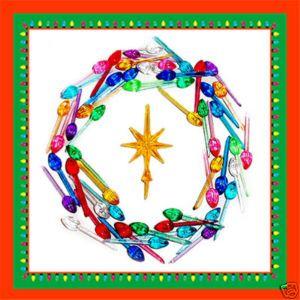 Ceramic Christmas Tree 50 Mini Twist Lights Star