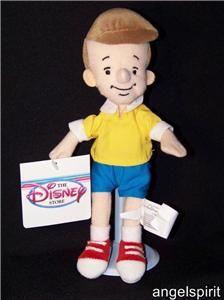 Christopher Robin Stuffed Plush Beanbag Winnie The Pooh Disney Beanie