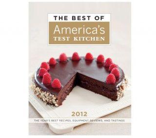 The Best of Americas Test Kitchen 2012 Cookbook