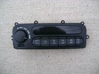 98 04 Dodge Intrepid Chrysler 300M A C Heater Climate Control 99 02