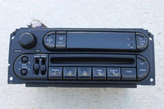 02 05 Chrysler Sebring Jeep Dodge Neon 300M CD Player Radio OEM