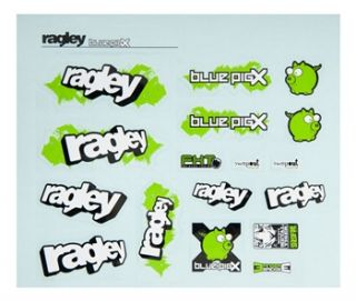 Ragley Blue Pig X Decal Kit 2011