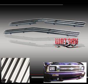 94 97 Chevy S10 Blazer Upper Billet Grille Grill Insert
