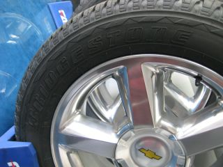 20 Wheels Tires 1988 2012 Chevy GM LTZ Factory Polished 100 New Tires