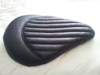 Motorcycle Seat Cover Solo Seat Bobber Chopper Custom