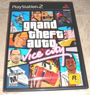 Grand Theft Auto Vice City for Playstation 2 Brand New, Factory Sealed