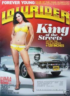 Lowrider Magazine 11 06 Crystal Ellis Chris Roark Bikes Classic Car
