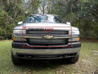 Grille 2001 2002 Chevy Silverado 2500 3500 Front Grill Aluminum Billet