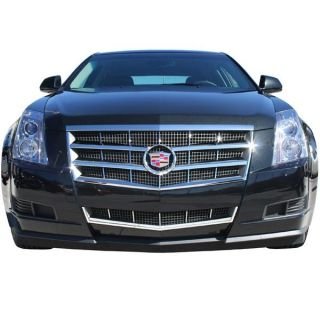 08 09 10 11 Cadillac cts Chrome Plastic 8 Piece Grille Insert Gi 76