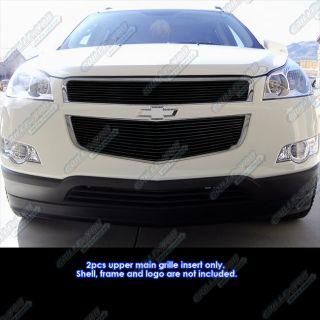 2010 2011 chevy traverse black billet grille insert c66740h