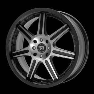 18 inch Motegi Black Racing Wheels 5 Lug Rims Toyota TC