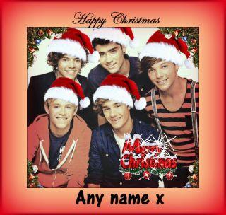Factor Xmas Christmas Card Personalised Postcard Birthday Card