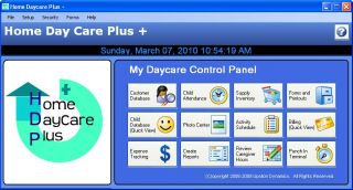 Child Daycare Management Software Home Day Care Program